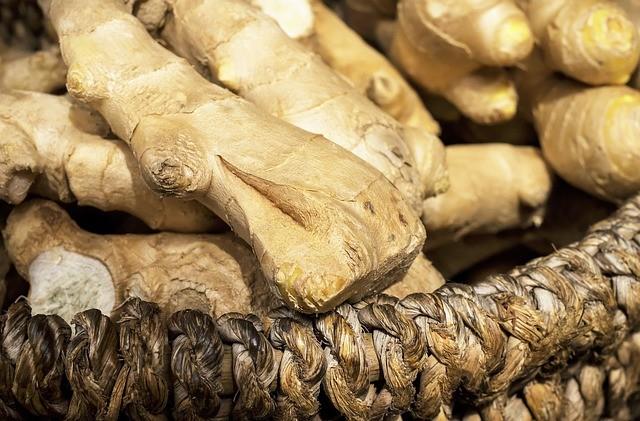 Le gingembre est connu pour ses vertus aphrodisiaques